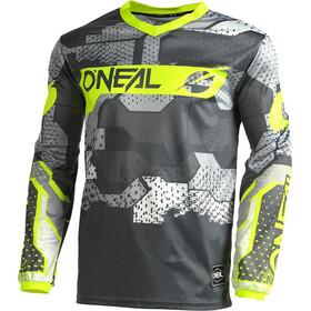 O'Neal Element Jersey Uomo, grigio/giallo